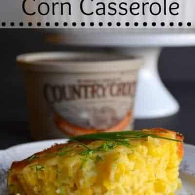 Parmesan Corn Casserole