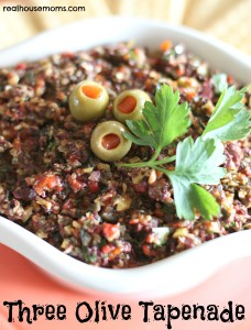 Three Olive Tapenade