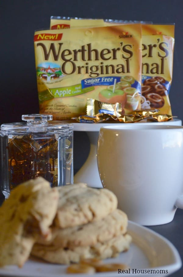 These delicious pudding cookies are sugar free and full of Caramel Coffee flavor from the Werther's Sugar Free candies.
