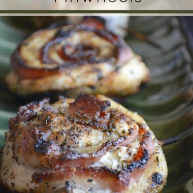 Bacon & Chicken Pinwheels