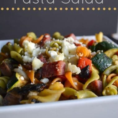 Grilled Vegetable Pasta Salad | Real Housemoms