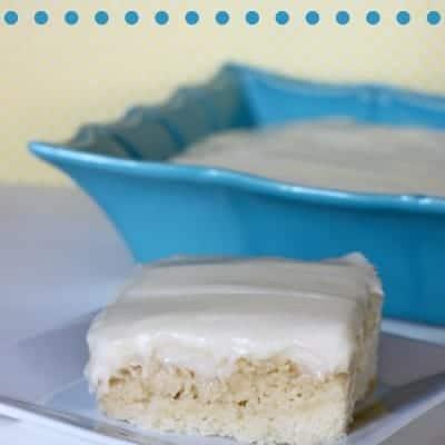 Lemon Poke Cake #BrunchWeek