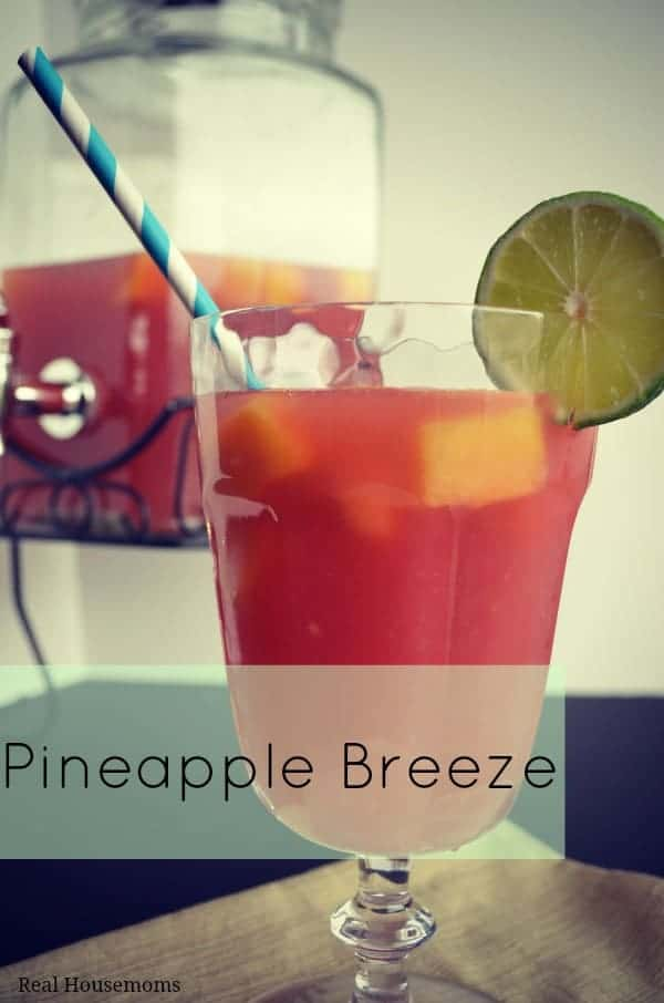 Pineapple Breeze | Real Housemoms