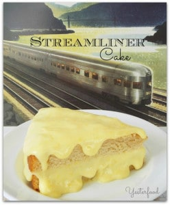 Streamliner Cake by Yesterfood
