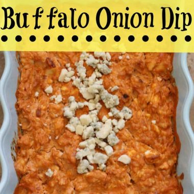 Buffalo Onion Dip