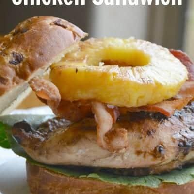 Luau Chicken Sandwich