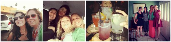 girls night out collage_real housemoms