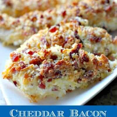 Cheddar Bacon Chicken Tenders