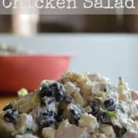 Southwest Chicken Salad Real Housemoms