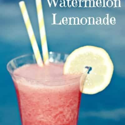 Strawberry Watermelon Lemonade