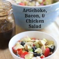 Artichoke, Bacon, and Chicken Salad