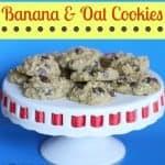 Banana & Oat Cookies