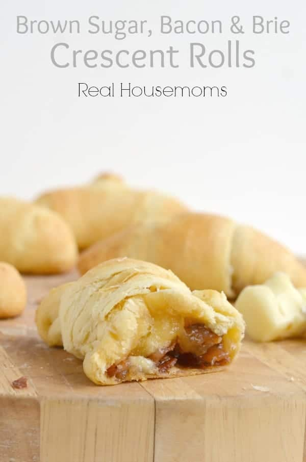 Brown Sugar, Bacon & Brie Crescent Rolls_Real Housemoms