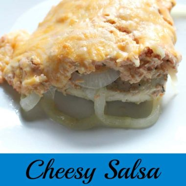Cheesy Salsa Chicken