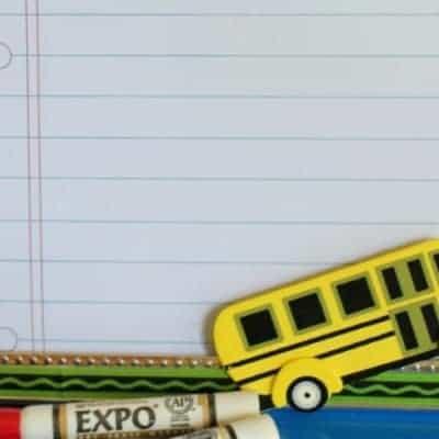 Dry Erase Frame #BacktoSchoolWeek