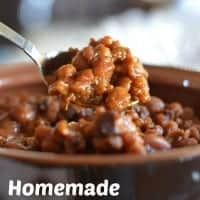 Homemade Baked Beans | Real Housemoms