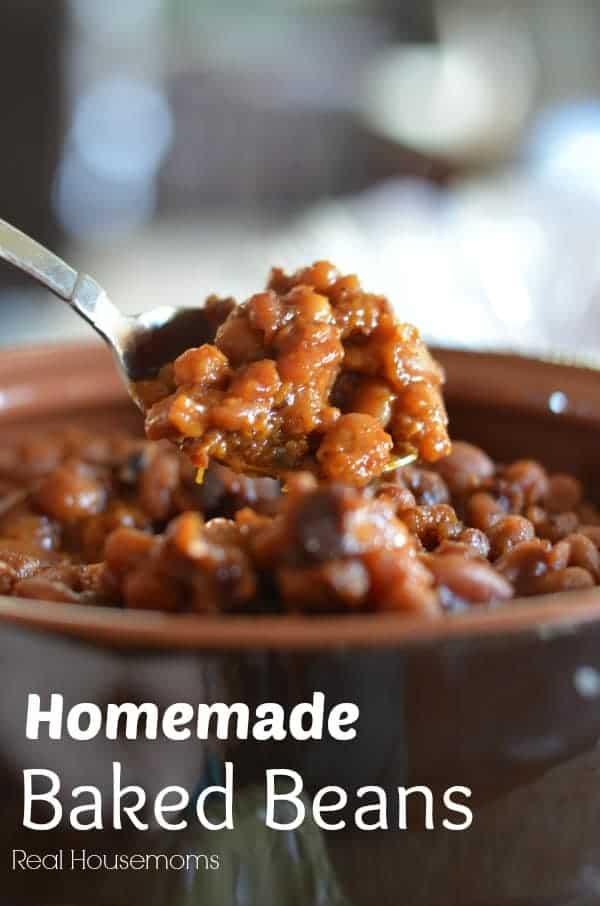 Homemade Baked Beans | Real Housemoms