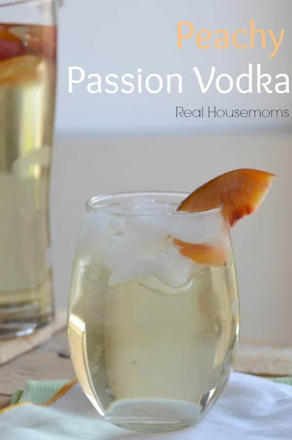 Peachy Passion Vodka | Real Housemoms