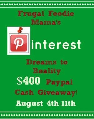 pinterest giveaway image