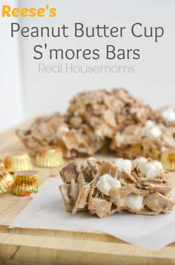 Reese's Peanut Butter Cup S'mores Bars Real Housemoms