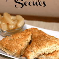 Apple Pie Scones from {i love} my disorganized life #applepiefilling #scones #applepie
