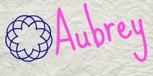 Aubrey_sig card