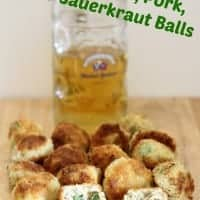 Jalapeno, Pork, and Sauerkraut Balls