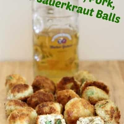Jalapeno, Pork, & Sauerkraut Balls