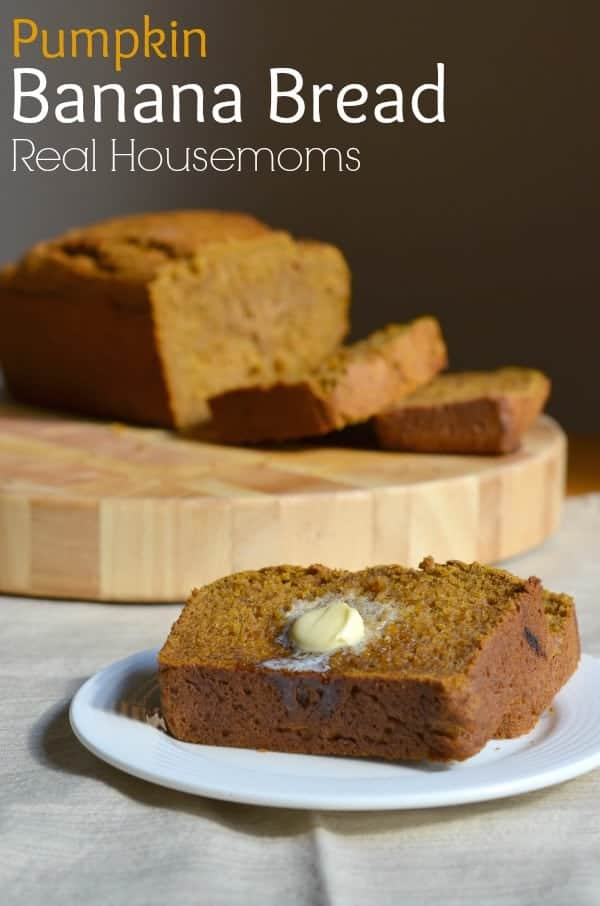 Pumpkin Banana Bread_Real Housemoms