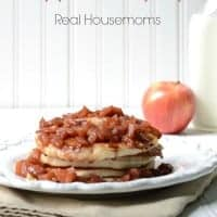 Apple Pie Syrup | Real Housemoms | This syrup is delicious over pancakes or ice cream!