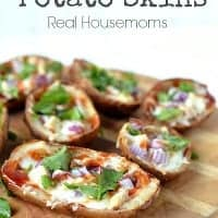 BBQ Chicken Potato Skins | Real Housemoms