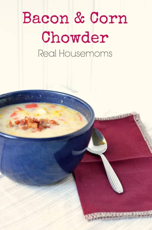 Bacon Corn Chowder | Real Housemoms