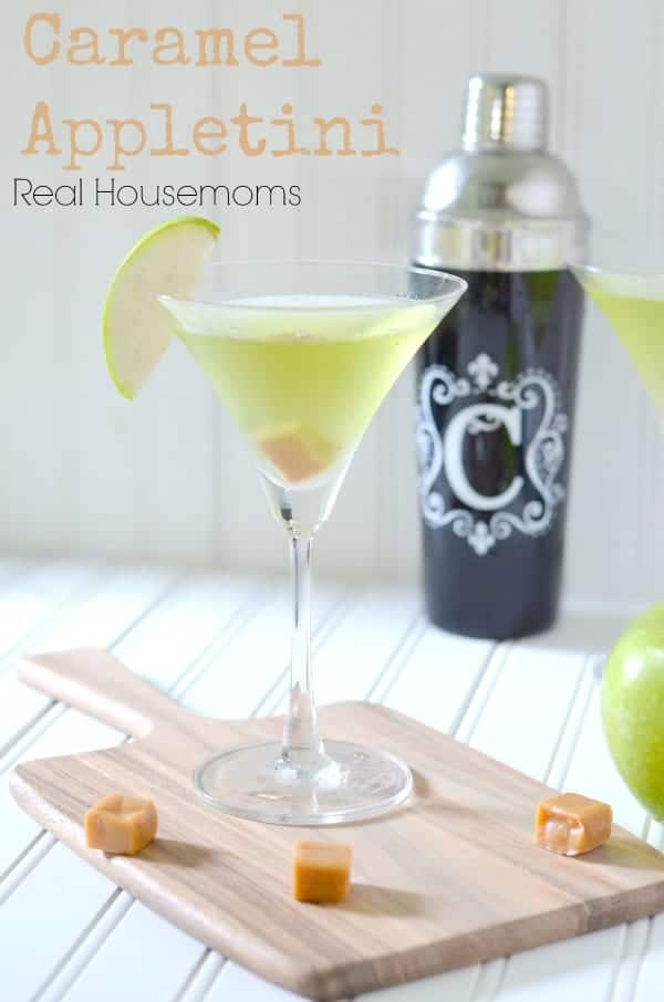 Caramel Appletini_Real Housemoms