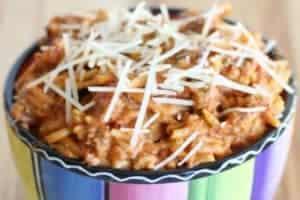 {Crock Pot} Creamy Spaghetti