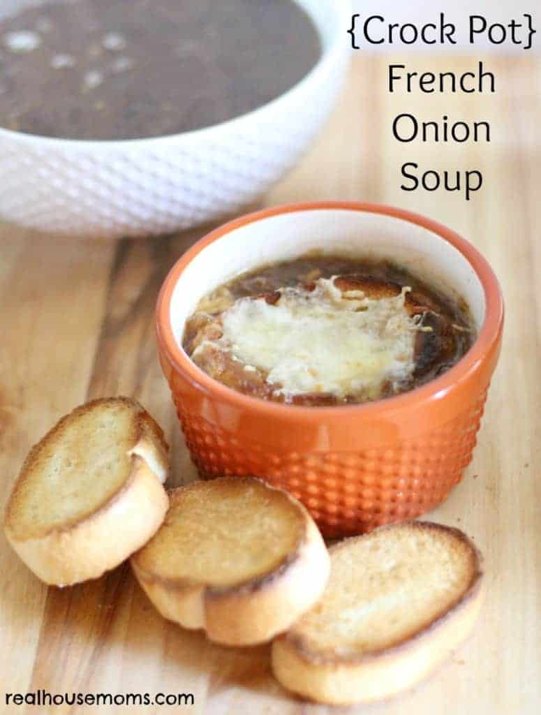 Crock Pot} French Onion Soup