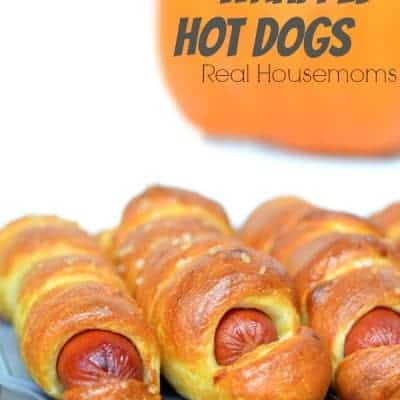 Pretzel Wrapped Hot Dogs