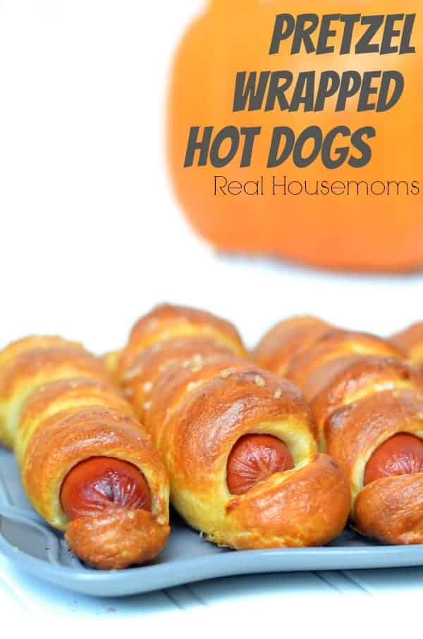 Pretzel Wrapped Hot Dogs | Real Housemoms