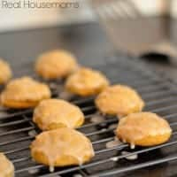 Pumpkin Cookies with Maple Icing | Real Housemoms |  #pumpkin #cookies #Maple