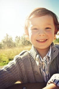 Smiling Vaughn_ Sun glow