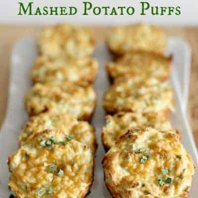{Leftover} Mashed Potato Puffs
