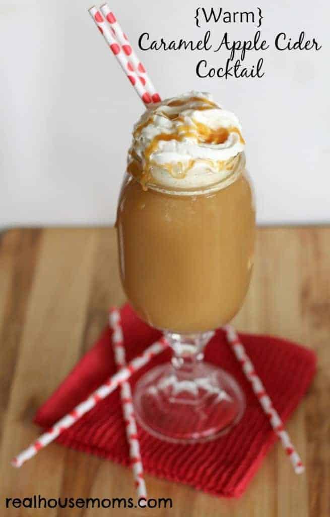 Warm} Caramel Apple Cider Cocktail