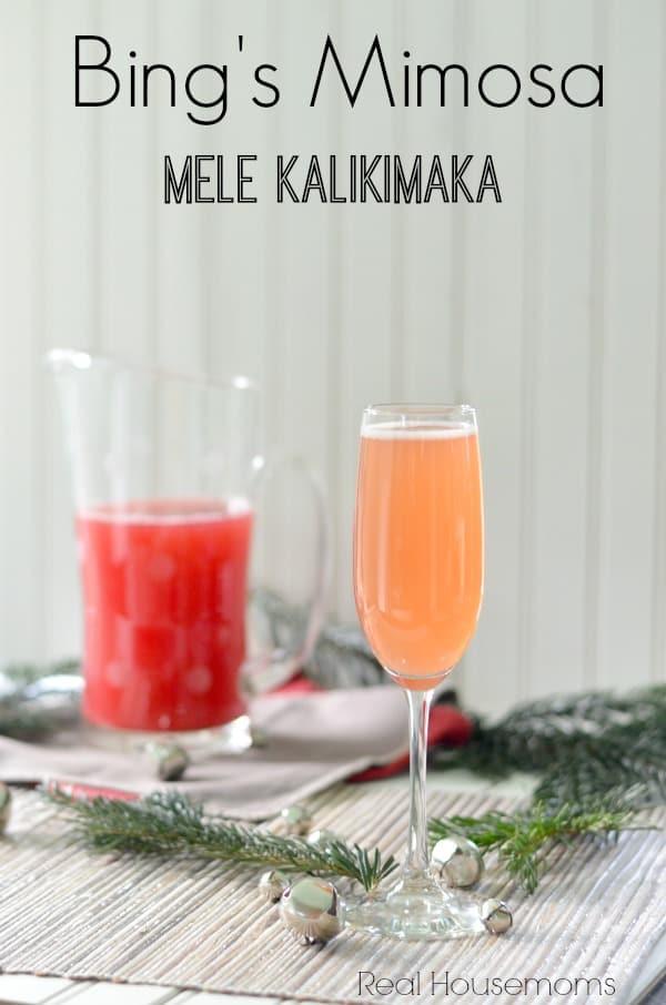 Bing's Mimosa_Real Housemoms