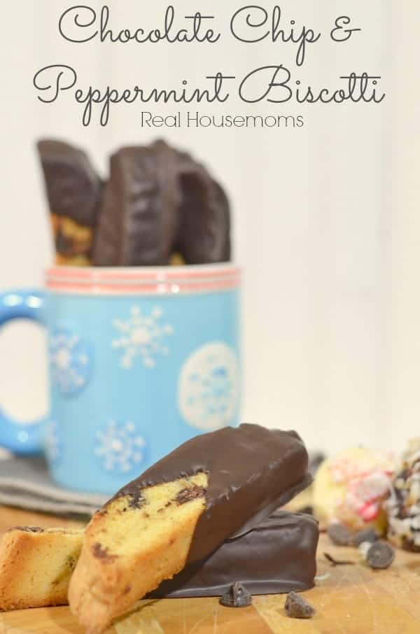 Chocolate Chip and Peppermint Biscotti_Real Housemoms