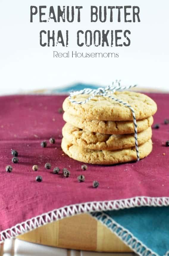 Peanut Butter Chai Cookies_Real Housemoms