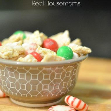 reindeer chow in a bowl
