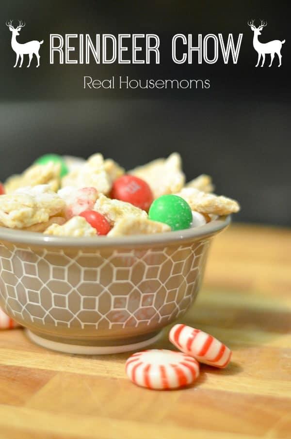 Reindeer Chow Real Housemoms