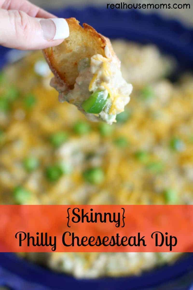 skinny philly cheesecake dip