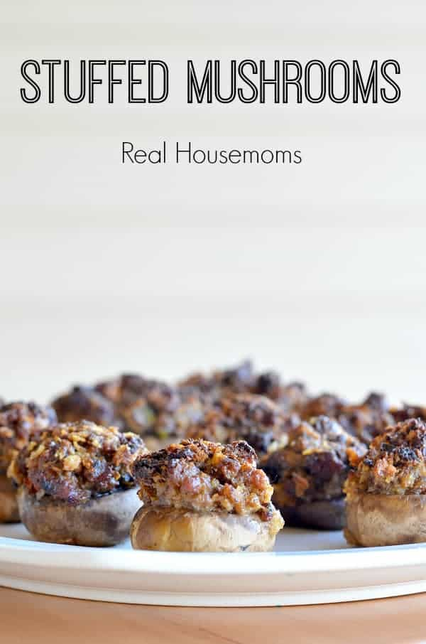Stuffed Mushrooms_Real Housemoms