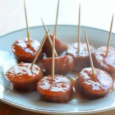 Apple Chicken Sausage Bites