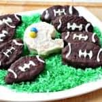 Chocolate Covered Football Krispies